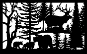 30 X 48 Three Bears Elk