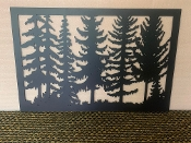 24 X 36 Just Trees